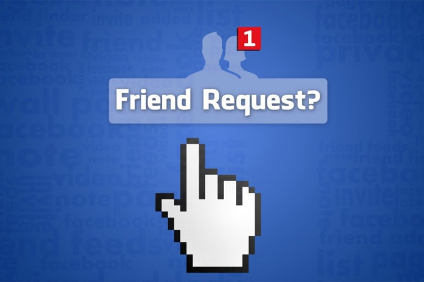 sending friend request to your boss think again