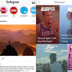 Instagram Stories attracting lots of publishers, including some from Snapchat