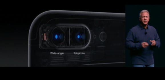 iPhone 7 and 7 plus launched with two side by side cameras and water resistance ability