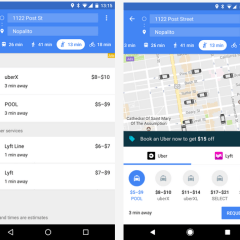 Google Maps makes it easier to hail an Uber without leaving the app
