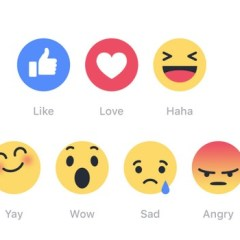 Facebook's reaction buttons are becoming more popular than the 'Like' button