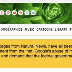 Google Delists Natural News – Is It For Spreading Fake News Or Something Else?