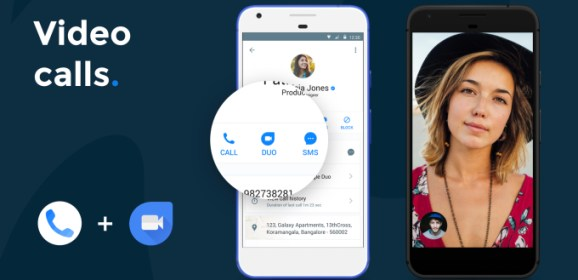 Truecaller app integrated with Google Duo and payment