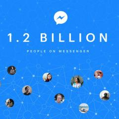 Facebook Messenger hits 1.2 billion monthly active users