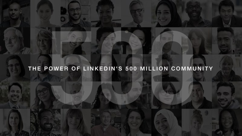 LinkedIn 500 Million