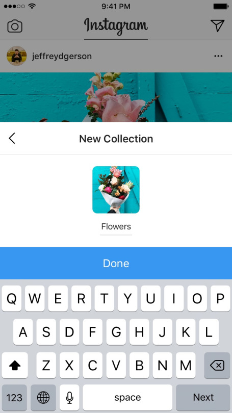 Instagram Introduces Private Collections