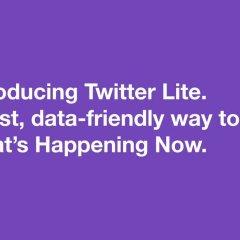 Twitter Lite Mobile Web Version: Minimizing Data Usage