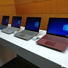 Microsoft unveiled the Surface Laptop with Windows 10 S
