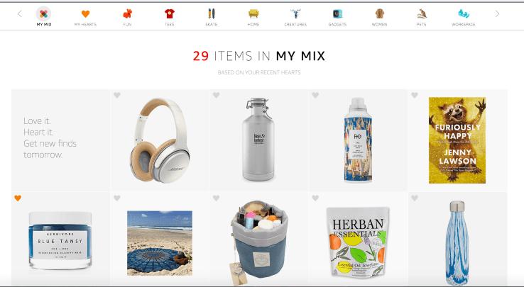 Amazon My Mix