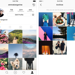 Instagram's new Archive feature is now live for everyone