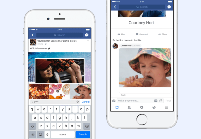 facebook native gif support