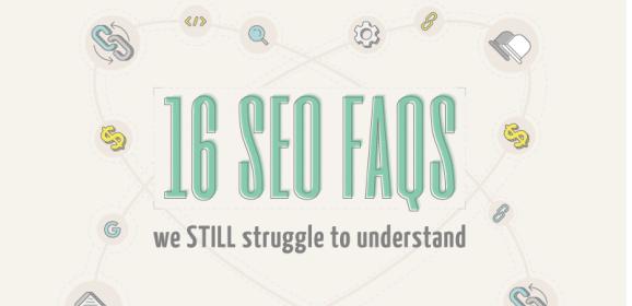 16 SEO FAQs Challenge (Infographic)