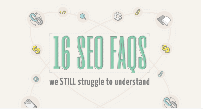 16 SEO FAQs Challenge (Infographic)