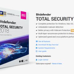 Review – Bitdefender Total Security 2018