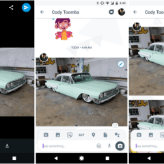Google may include edit button for images in Allo