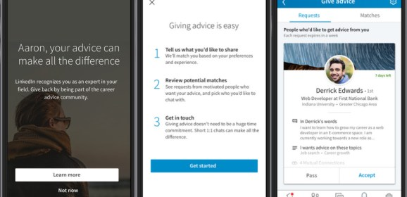 LinkedIn launches a free service to connect you with mentors