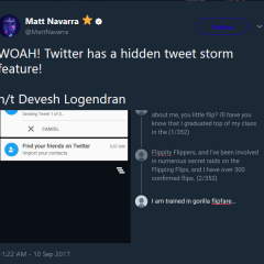 Twitter is testing a new tweetstorm feature on its app for Android