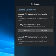 Microsoft's Cortana now has the ability to remember your browsing history