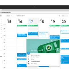 Google Calendar on the web now has a refreshing new look