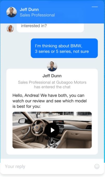 Get Dealer Live Chat That Combines Video, Social Media, And SMS