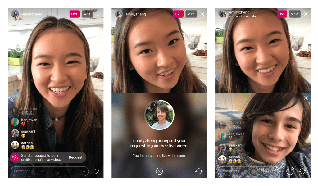 You Can Now Request To Join A Friend's Instagram Live