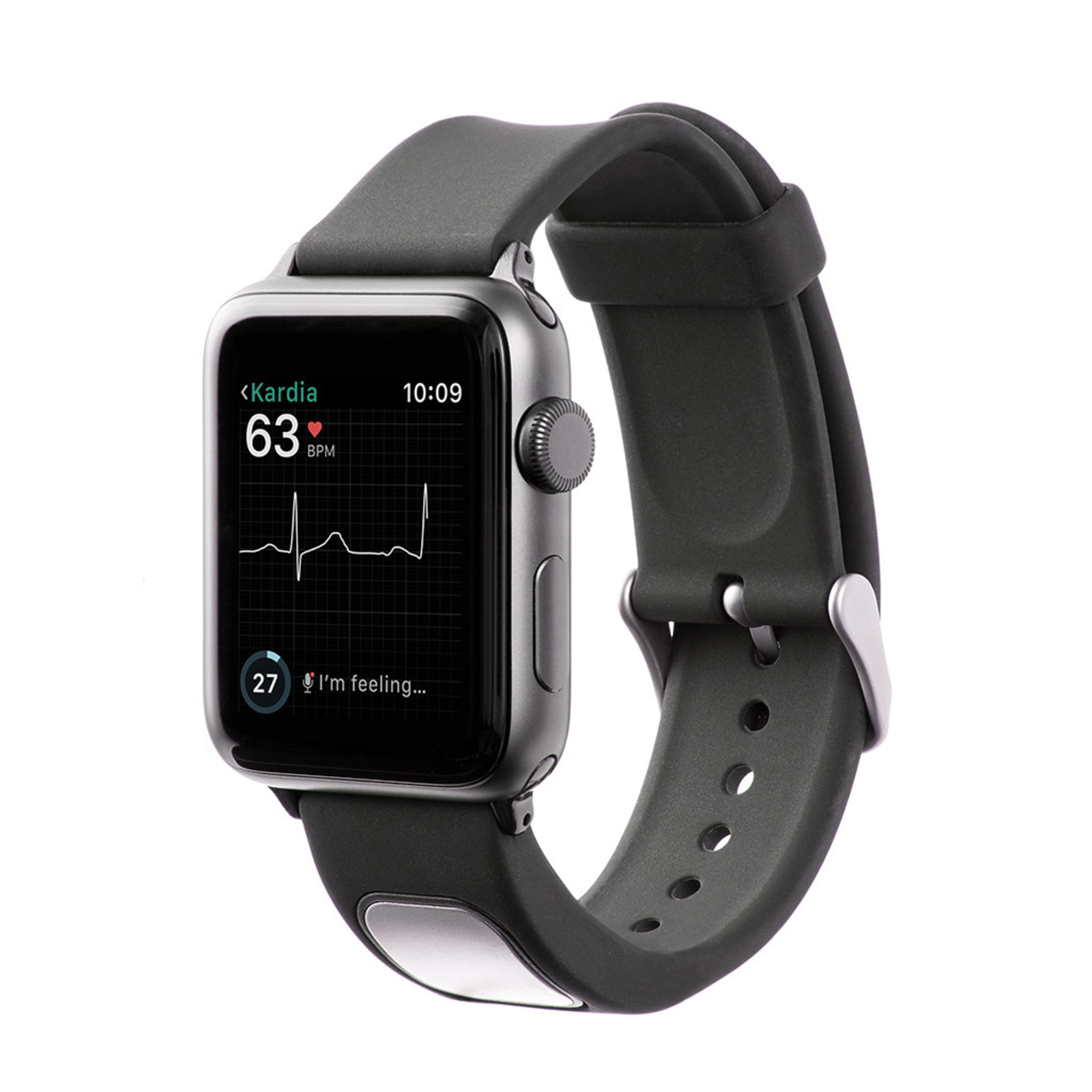 AliveCor's KardiaBand is first Apple Watch accessory to be cleared by FDA