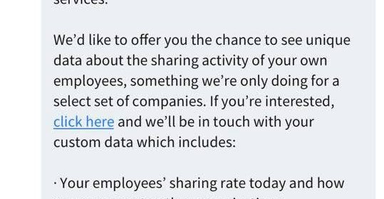 LinkedIn's new feature shares what you do online with your boss