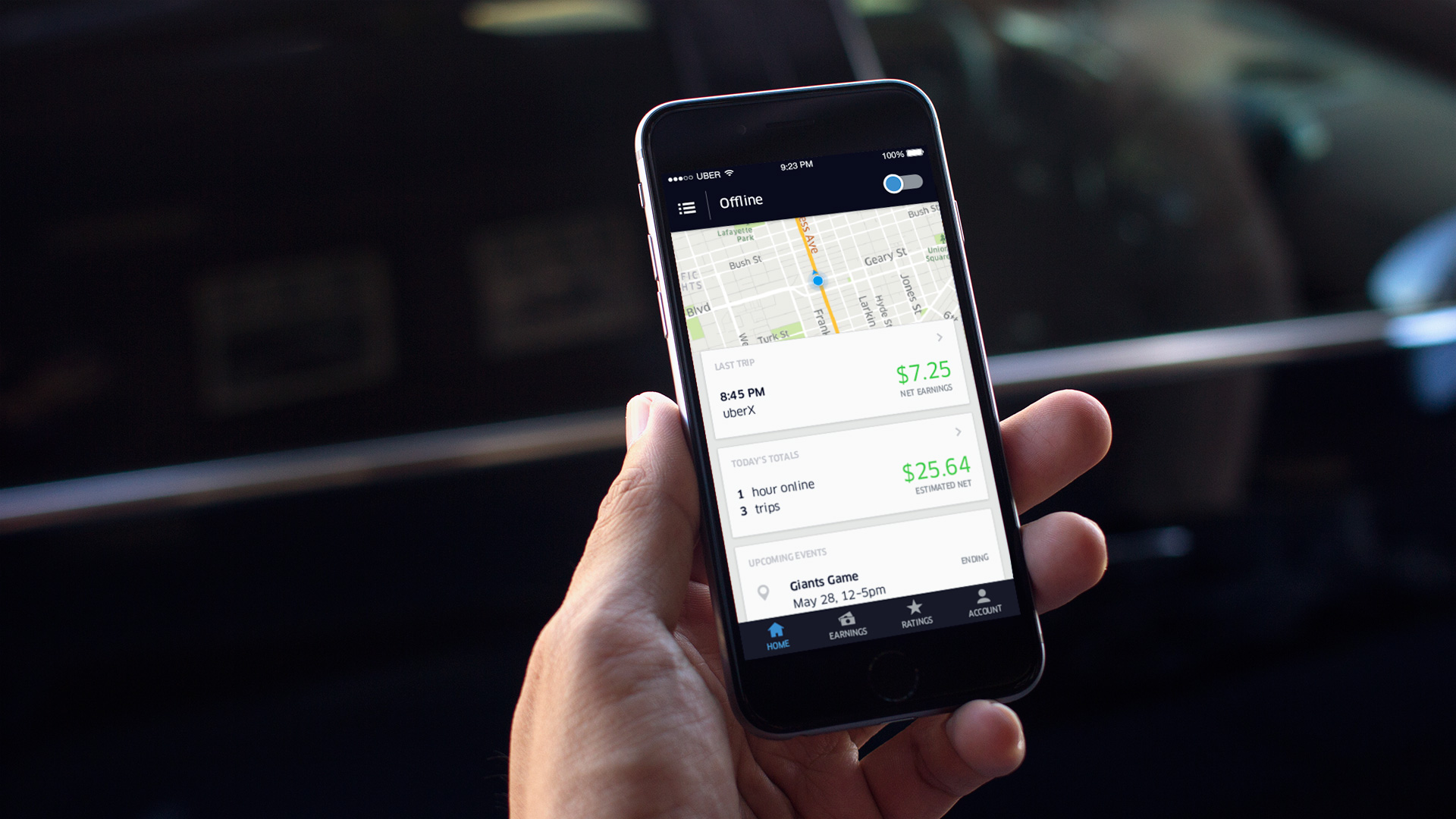 Uber will begin forcing six-hour rest breaks for busy U.S. drivers