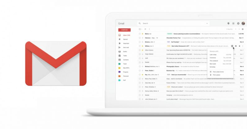 Google is redesigning Gmail for the web