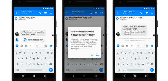 Facebook Messenger can translate between Spanish and English in new update