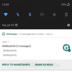 WhatsApp adds 'Mark as Read' shortcut in Notification Center in new beta