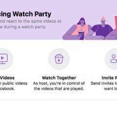 Facebook's new 'Watch Party' will allow friends watch videos together