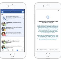 Facebook Bug Caused Its System to Unblock People