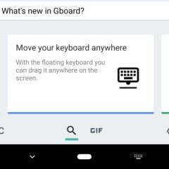 Google Gboard appears to be working on a floating keyboard