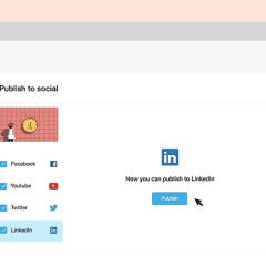 Vimeo users now have access to publish videos directly on LinkedIn