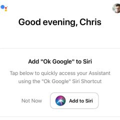 Google Assistant adds support for Apple Siri shortcuts on iOS