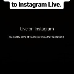 Instagram adds new title option to Instagram Live video