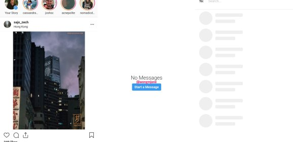 Instagram is testing DMs on desktop