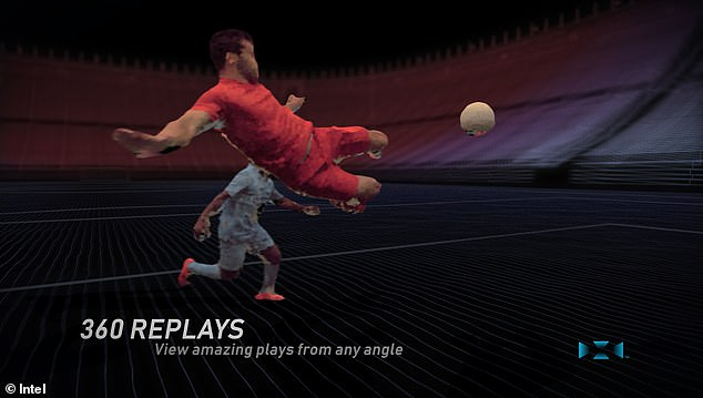 Three Premier League clubs to use Intel 3D 360-degree replay technology