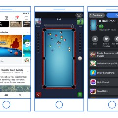 Facebook migrates Instant Games from Messenger to the main app