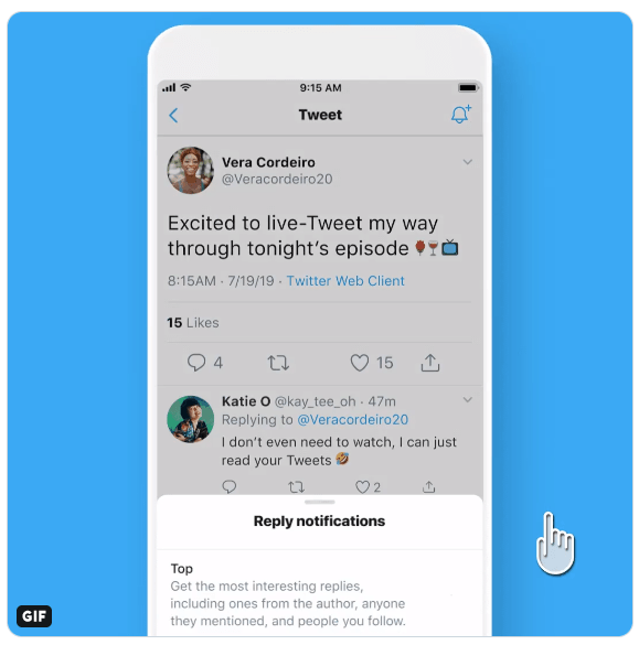 Twitter is Testing a Feature Enabling Users to Subscribe to Tweet's Replies
