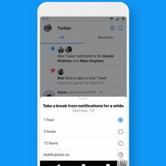 "Twitter confirms it is testing a ""Snooze Notification"" feature on Android"