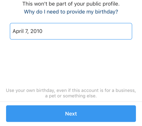 Instagram Requires New Users to Reveal Their Ages — Can It Verify Birthdays?