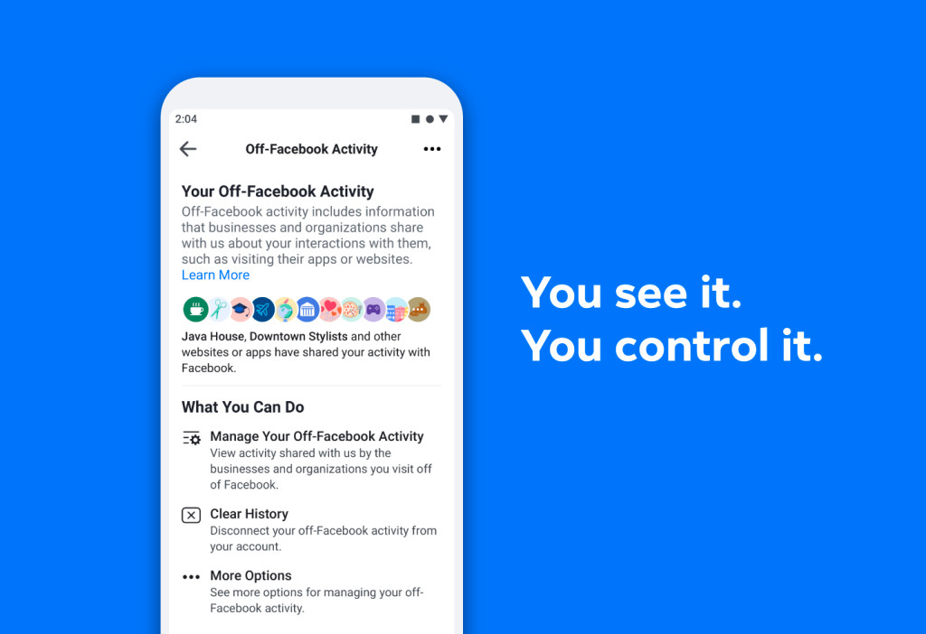 Facebook alerting users to check their privacy in 2020