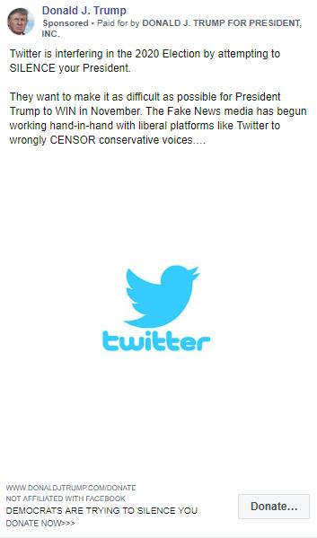 Twitter Trump account strife misinformation