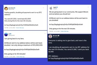 High-profile Twitter accounts hacked, promoted Bitcoin scam