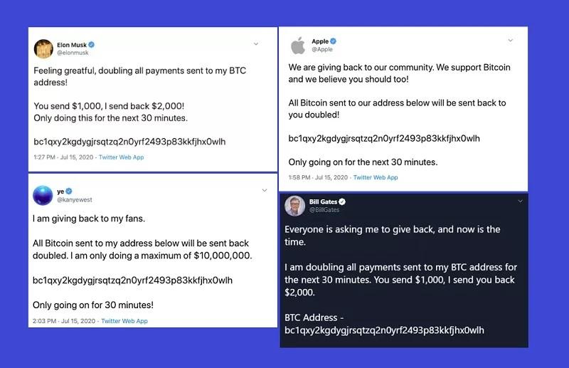 twitter security breach hack bitcoin scam