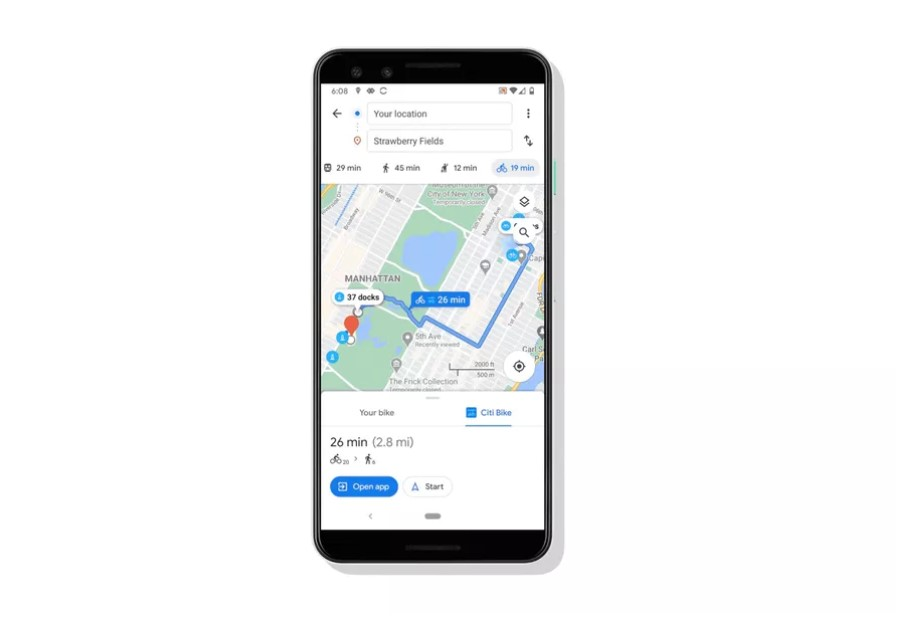 Google Maps makes urban cycling more convenient with a new update