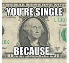 your single because