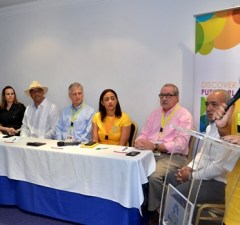 Román Medina Diplán, José Natalio Redondo, Mayra Ramón, Julio Almonte, Roberto Casoni, Jakaira Cid, Máximo Iglesia, Sixto Peralta y Anny Mariel Gómez.